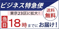 ビジネス特急便 当日18時までにお届け