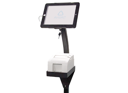 iPad フロアスタンド OWL-AWST-BK