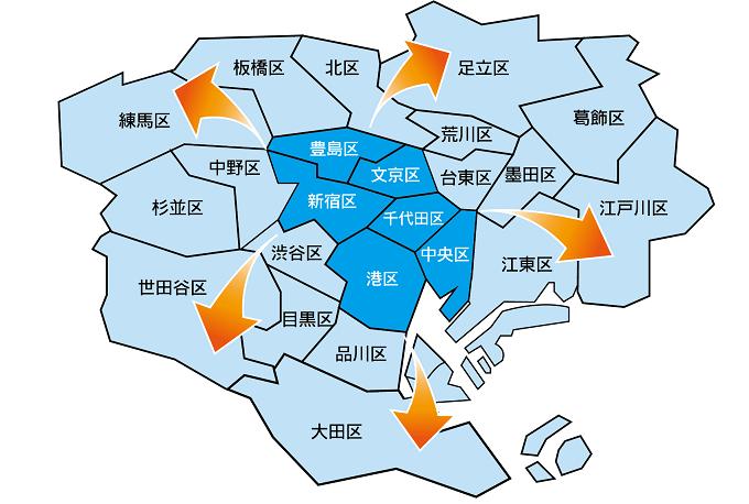 2019/2/4(月)より23区に配送エリア拡大!