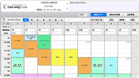 シフト管理表