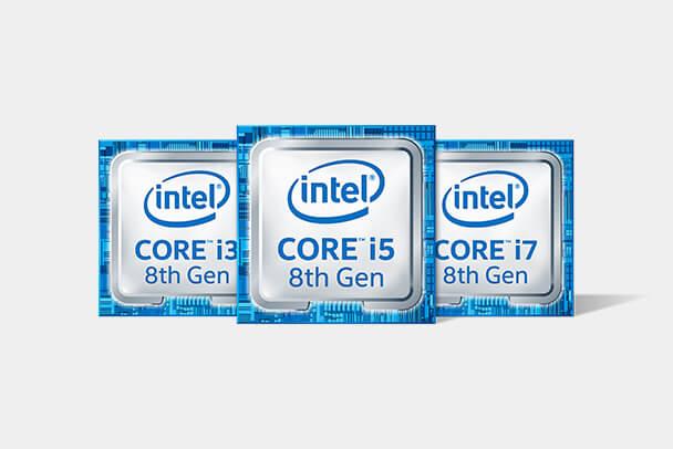 第8世代インテルR Core?プロセッサー・ファミリーのアイコン